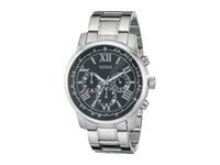 Guess U0379g1 Silver Black Watches Gray
