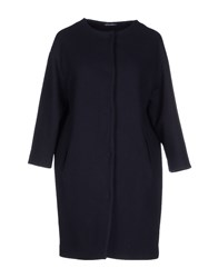 Laura Urbinati Coats And Jackets Coats Women Dark Blue