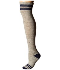 Smartwool Retro Tube Socks Light Gray Heather Women's Thigh High Socks Shoes