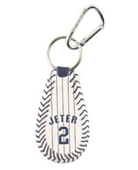 Game Wear Derek Jeter New York Yankees Keychain Team Color