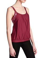 Next Native Mantra Soft Cup Tankini D Cup Red