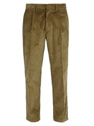 The Gigi Cotton Corduroy Trousers Khaki