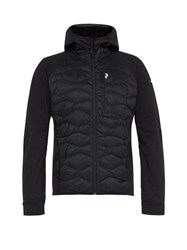 Peak Performance Helium Hybrid Quilted Down Jacket Black