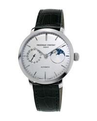 Frederique Constant 38 8Mm Slimline Manufacture Moonphase Watch