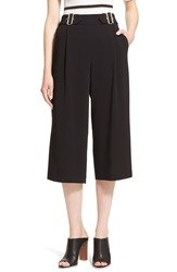 A.L.C. 'Beals' Belted Gaucho Pants Black