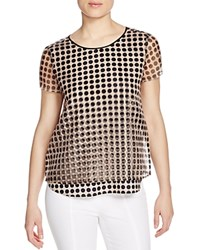 Finity Layered Polka Dot Tee Print