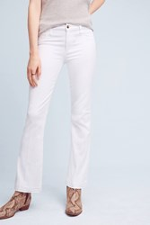 Anthropologie Joe's Provocateur Mid Rise Petite Jeans White