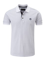 Henri Lloyd Men's Flixton Regular Polo Frost