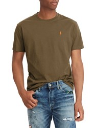 Ralph Lauren Polo Crew Neck T Shirt Expedition Olive