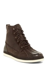 Ugg Alastair Genuine Sheepskin Lace Up Boot Brown