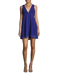 Bcbgeneration Solid Sleeveless Dress Electric Blue
