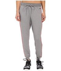 Zobha Relaxed Track Pants W Flat Tipping Heather Grey Women's Workout Gray
