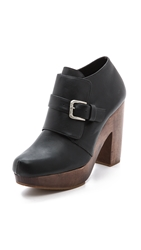 Rachel Comey Bernard Buckle Booties Black
