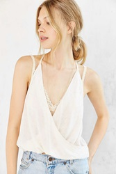 Silence And Noise Silence Noise Karly Twisted Cami Ivory