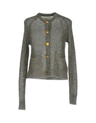 Leon And Harper Knitwear Cardigans Grey