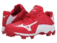 Mizuno 9 Spike Advanced Franchise 8 Low Red White Men's Cleated Shoes