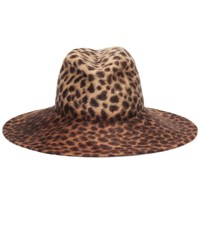 Lola Hats Exclusive To Mytheresa Biba Leopard Print Felt Hat Beige