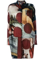 Rundholz Printed Circle Cut Shirt Women Cupro M