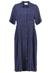 Noa Noa Dress Blue Black