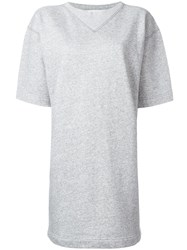 Etoile Isabel Marant Bruce Short Sleeved Dress Grey