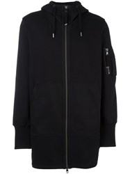 Diesel Black Gold Zipped Hoodie Black
