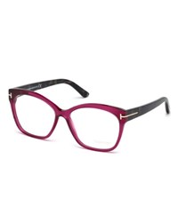 Tom Ford Round Square Optical Frames Fuchsia
