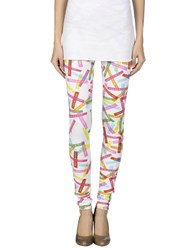 Agatha Ruiz De La Prada Trousers Leggings Women White