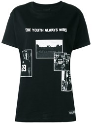 Les Artists Art Ists The Youth Always Wins T Shirt Black