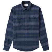Barbour Deck Shirt Blue