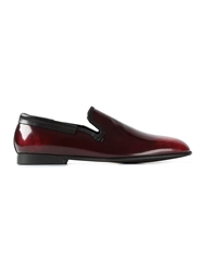 Dolce And Gabbana 'Amalfi' Slippers Red