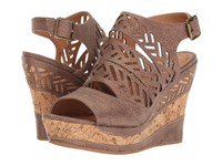 Not Rated Patia Taupe Women's Wedge Shoes