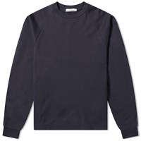 Nanamica Crew Neck Lightweight Sweat Blue