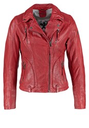 Gipsy Hariet Leather Jacket Red