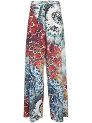 Alice Olivia Tie Dye Trouser Multicolour