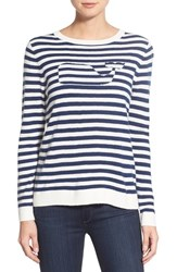 Women's Vineyard Vines 'Nautical Stripe Whale' Crewneck Sweater