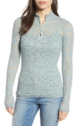 Rosemunde Women's Delicia Long Sleeve Top Puritan Grey