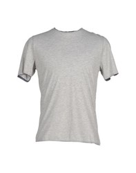 Alpha Studio Topwear T Shirts Men Light Grey