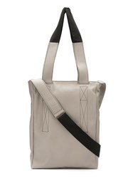 Uma Raquel Davidowicz Leather Giz Tote Bag Grey