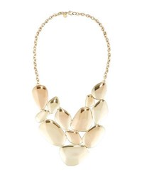 Lydell Nyc Statement Bib Necklace Gold