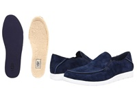 Ugg Colston New Navy Suede Men's Slip On Shoes Blue