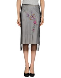 Vdp Collection 3 4 Length Skirts Black