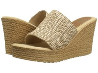 Sbicca Mary Natural Women's Wedge Shoes Beige