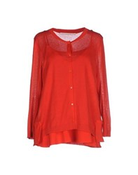 Schumacher Knitwear Cardigans Women Red