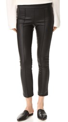 David Lerner Pintuck Cropped Pants Classic Black