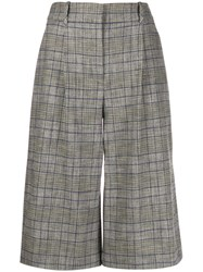 Veronica Beard High Rise Checked Culottes 60