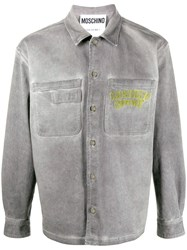 Moschino Washed Boxy Shirt Jacket 60