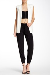 Black Orchid Candice Drawstring Trouser