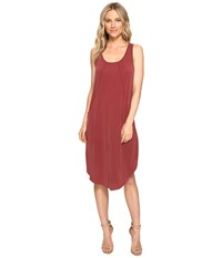 Culture Phit Johanna Sleeveless Pocketed Dress Dusty Burgundy Women's Dress