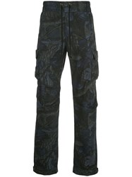 John Elliott Tree Print Cargo Trousers 60