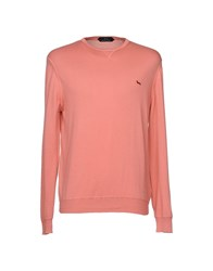 Harmont And Blaine Sweaters Salmon Pink